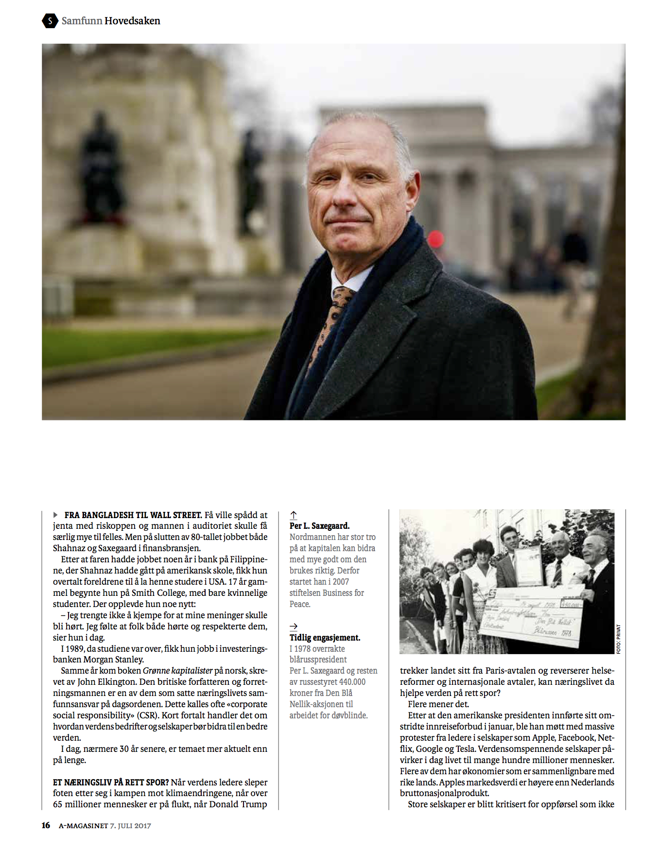 BusinessforPeace_Aftenposten_A-magasinet Page 5