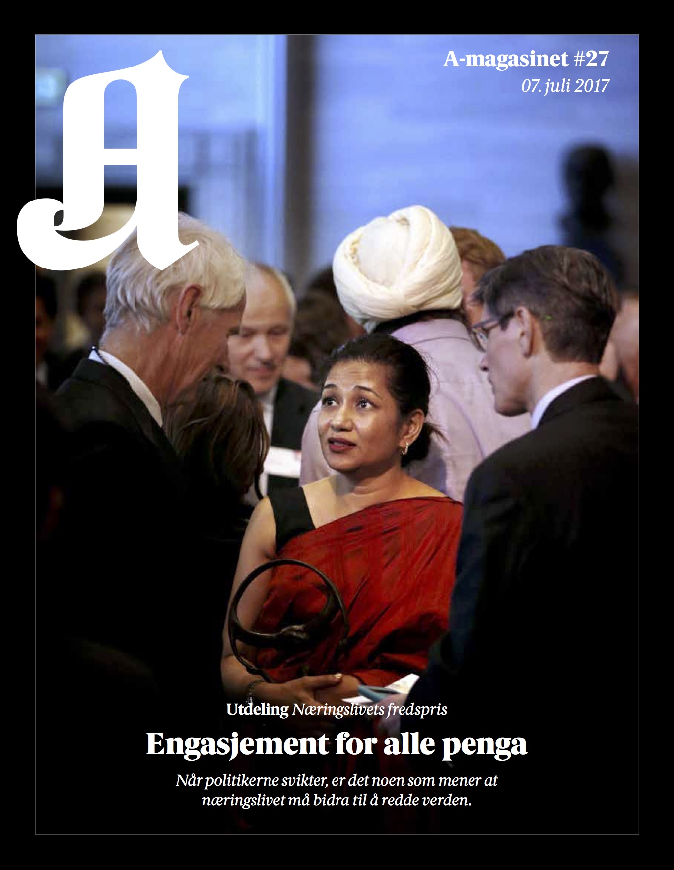 BusinessforPeace_Aftenposten_A-magasinet page 1