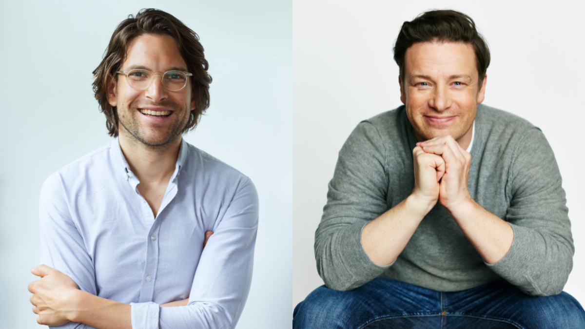 Jamie Oliver and Sandro Demaio