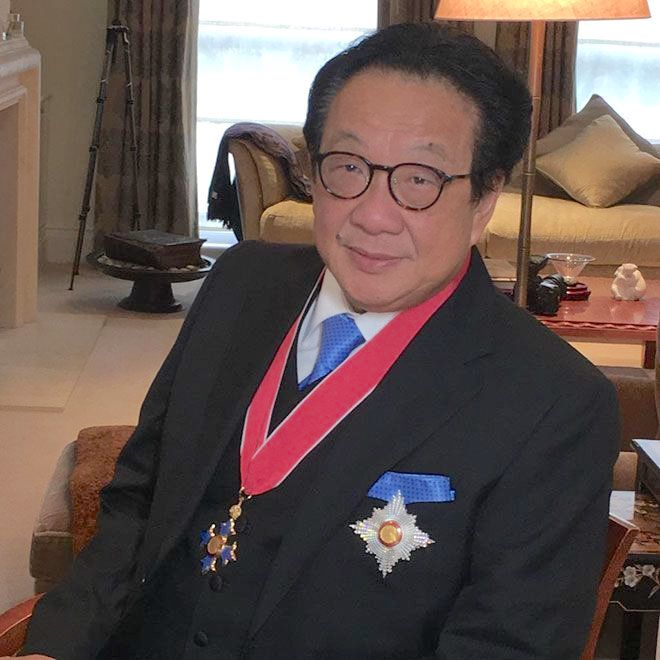 Sir Francis Yeoh, Business for Peace Honouree, receives knighthood